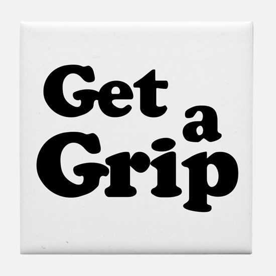Get a Grip Tile Coaster