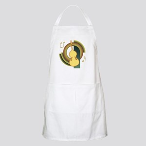 Double Bass Deco Apron