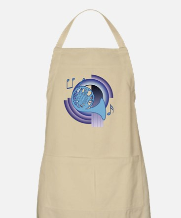 French Horn Deco2 Apron