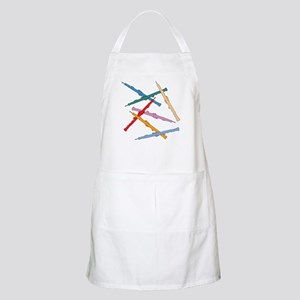 Colorful Oboes Apron