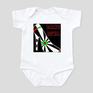 Dart Diva Infant Bodysuit