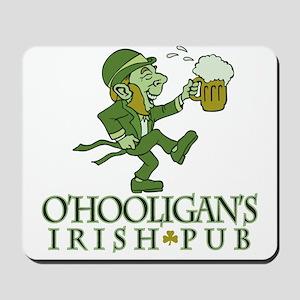 O'Hooligan's Irish Pub Small Mousepad