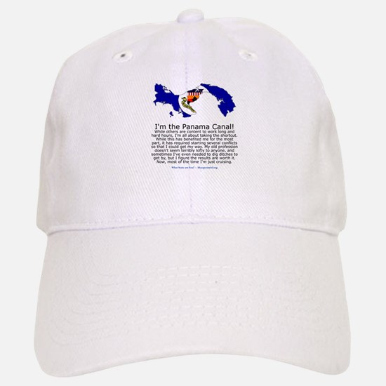 Panama Canal Baseball Baseball Cap