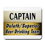 Duluth Beer Drinking Team Mousepad