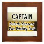 Duluth Beer Drinking Team Framed Tile