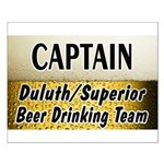 Duluth Beer Drinking Team Small Poster