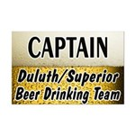 Duluth Beer Drinking Team Mini Poster Print
