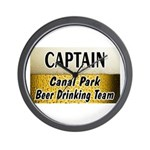 Canal Park Beer Drinking Team Wall Clock