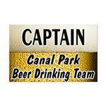 Canal Park Beer Drinking Team Mini Poster Print