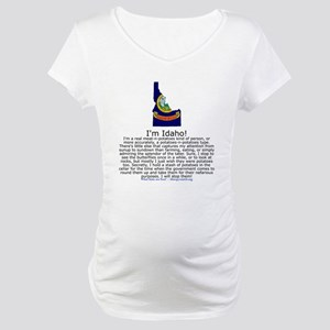 Idaho Maternity T-Shirt