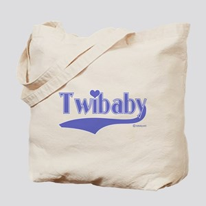 Twibaby Blue Tote Bag