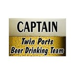 Twin Ports Beer Drinking Team Rectangle Magnet