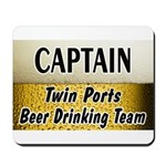 Twin Ports Beer Drinking Team Mousepad