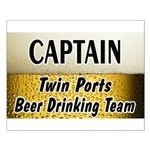Twin Ports Beer Drinking Team Small Poster