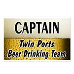 Twin Ports Beer Drinking Team Postcards (Package o