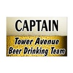 Tower Avenue Beer Drinking Team Mini Poster Print