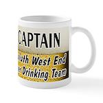 West End Beer Drinking Team Mug
