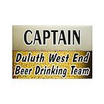 West End Beer Drinking Team Rectangle Magnet (100