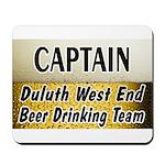 West End Beer Drinking Team Mousepad