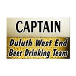 West End Beer Drinking Team Mini Poster Print