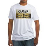 Superior Beer Drinking Team Fitted T-Shirt