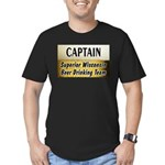 Superior Beer Drinking Team Men's Fitted T-Shirt (