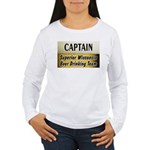 Superior Beer Drinking Team Women's Long Sleeve T-
