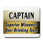 Superior Beer Drinking Team Mousepad