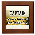 Superior Beer Drinking Team Framed Tile