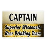 Superior Beer Drinking Team Postcards (Package of