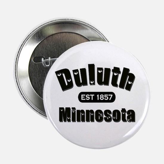 "Duluth Established 1857 2.25"" Button"
