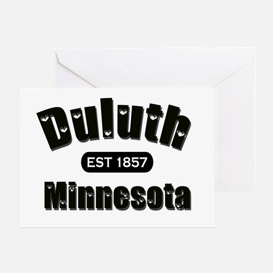 Duluth Established 1857 Greeting Card