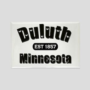 Duluth Established 1857 Rectangle Magnet