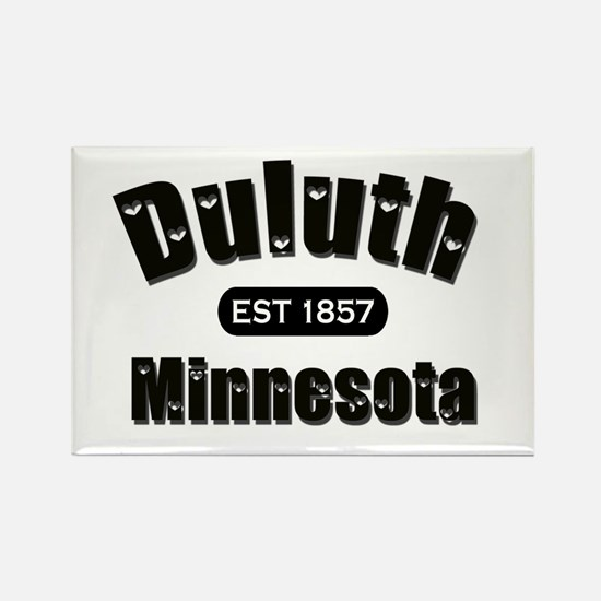 Duluth Established 1857 Rectangle Magnet