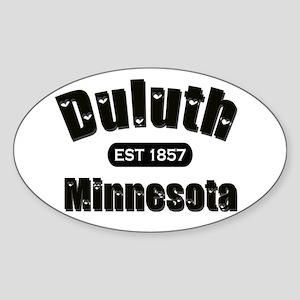 Duluth Established 1857 Oval Sticker