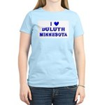 I Love Duluth Winter Women's Light T-Shirt