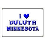 I Love Duluth Winter Banner