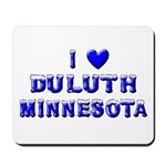 I Love Duluth Winter Mousepad
