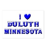 I Love Duluth Winter Postcards (Package of 8)