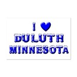 I Love Duluth Winter Mini Poster Print