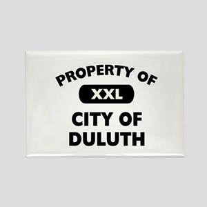 Property of City of Duluth Rectangle Magnet