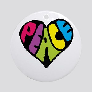 Dark Peace Ornament (Round)