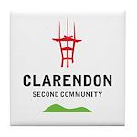 Second Community Tile Coaster