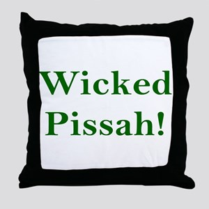 Wicked Pissah! Throw Pillow