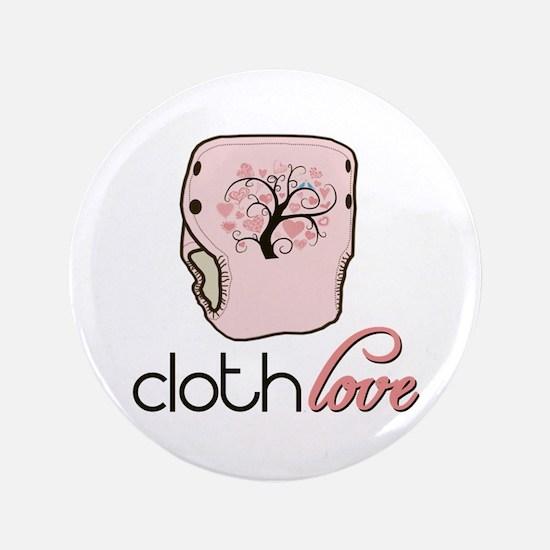 "Cloth Love 3.5"" Button"
