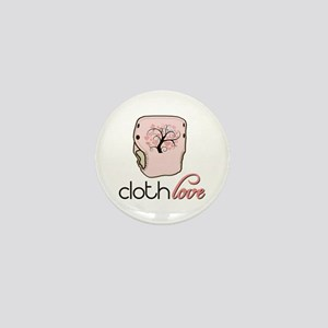 Cloth Love Mini Button