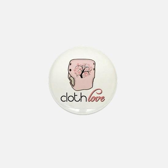 Cloth Love Mini Button