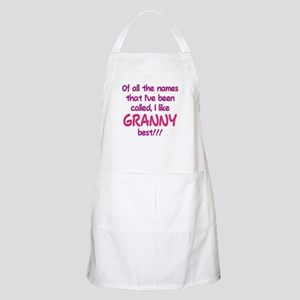 I LIKE BEING CALLED GRANNY! Apron