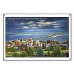 1941 View of Duluth from Skyline Drive Banner
