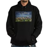 1941 View of Duluth from Skyline Drive Hoodie (dar